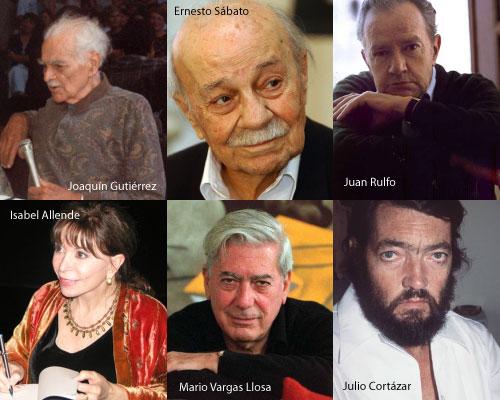 El Café de las Cuatro incluye entrevistas con grandes escritores latinoamericanos, realizadas por Carlos Morales.