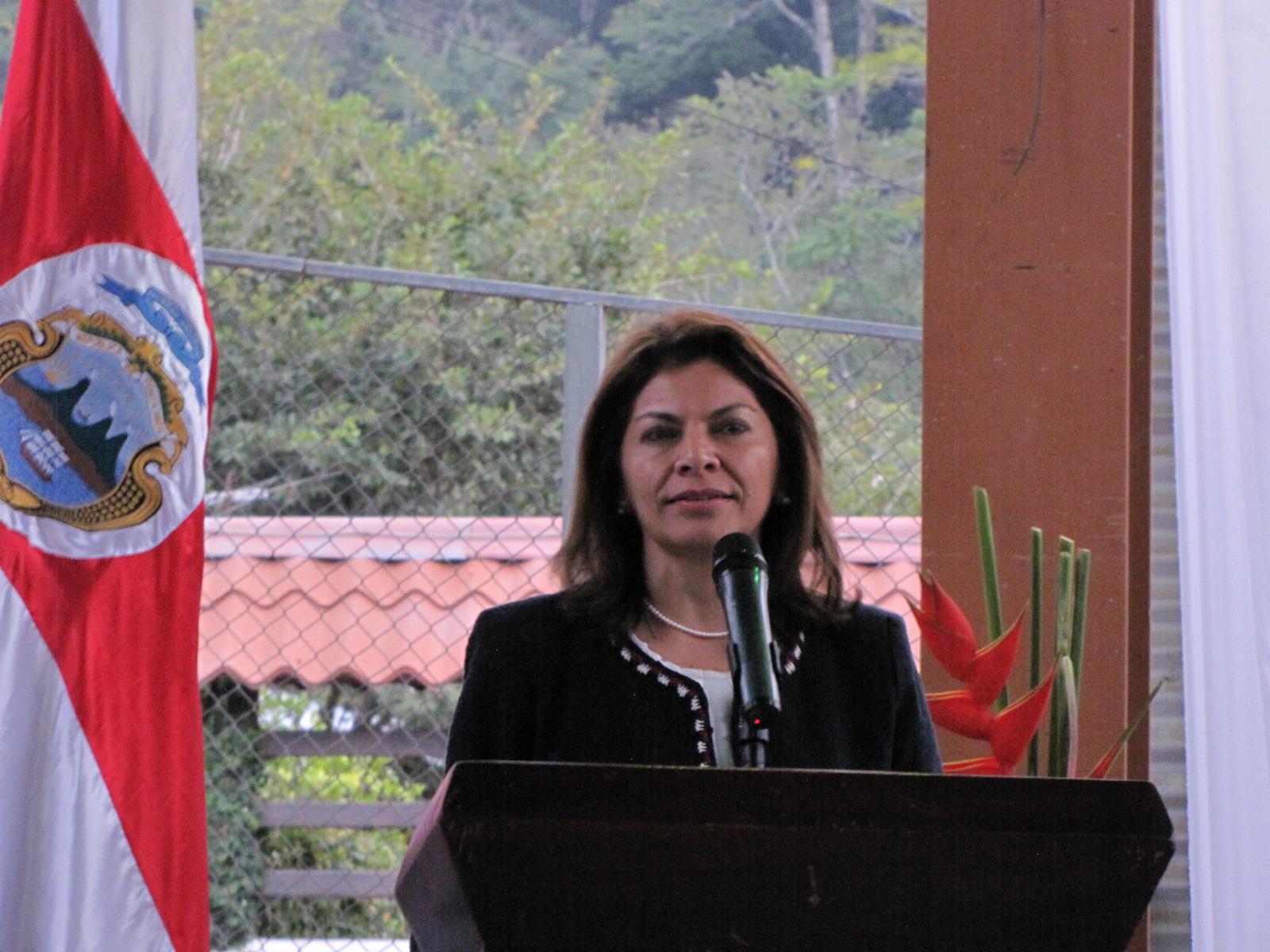 La Presidenta Laura Chinchilla defenderá su honor en los tribunales. (FOTO PROPIEDAD DE EL JORNAL)