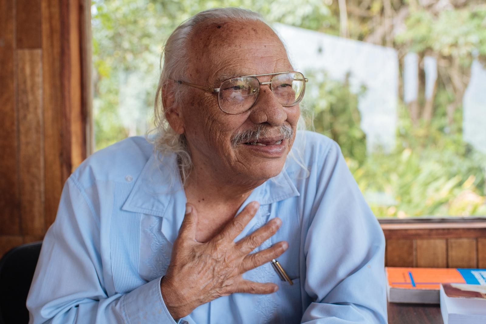 José León Sánchez es autor de libros de gran valía para la literatura costarricense y estará este 31 de agosto en Tarbaca.
